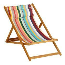 CABIN BASIC • Liegestuhl / Deckchair • Bespannung aus BATYLINE oder Acryltuch • div.Farben • WEISHÄUPL