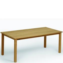 CABIN • Gartentisch / Esstisch • 220×90 • Teakholz massiv • WEISHÄUPL