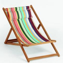 CABIN • Liegestuhl / Deckchair BASIC • Bespannung aus Batyline® oder Acryltuch • div.Farben • WEISHÄUPL