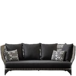 CANASTA 13 • Outdoor 3-Sitzer Sofagestell •Inkl. Sitzpolster • 229cm • B&B Italia