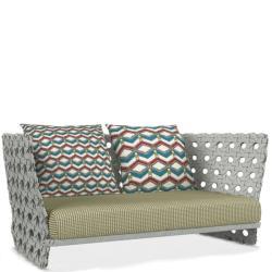 CANASTA • Outdoor 2-Sitzer Sofagestell 194cm •Inkl. Sitzpolster • B&B Italia