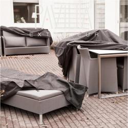 CANE-LINE Husse / Schutzhülle für Daybeds+Mega 2-Sitzer Sofa 180x112cm