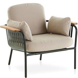 CAPA • Outdoor Loungesessel / Loungechair • inkl.Polster • div.Farben • GANDIA BLASCO
