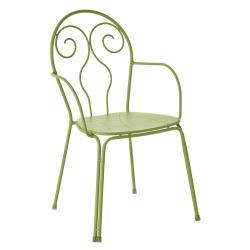 CAPRERA • Gartenstuhl mit Armlehnen / Stapelstuhl • diverse Farben • EMU