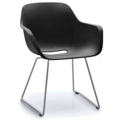 CAPTAIN´S CHAIR • Armlehnstuhl • Sitzschale Schwarz • Gestell Galvanisiert • EXTREMIS