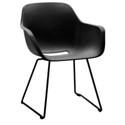CAPTAIN´S CHAIR • Armlehnstuhl • Sitzschale Schwarz • Gestell Schwarz • EXTREMIS