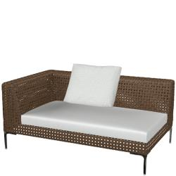 CHARLES OUTDOOR • Loungemodul END-Element 160cm LINKS • B&B Italia