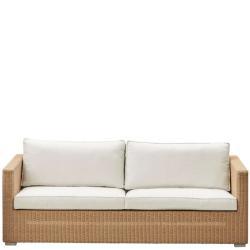 CHESTER • Outdoor 3-Sitzer Sofa-Gestell • Natur • exkl.Polster-Set • Cane-line