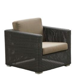 CHESTER • Outdoor Loungesessel / Loungechair Gestell • exkl.Polster-Set • Graphit • Cane-line