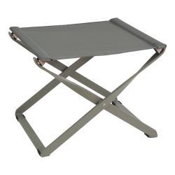 CIAK • Hocker klappbar • Gestell Graugrün / Bespannung Graugrün • EMU