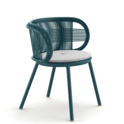 CIRQL • Gartenstuhl mit Armlehnen • Jade • DEDON
