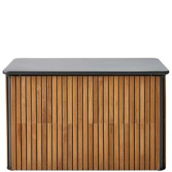 COMBINE • Kissentruhe / Aufbewahrungstruhe • Aluminium & Teak • B116×T63cm • Cane-line