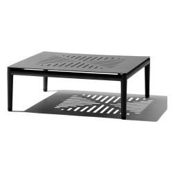 CONIC • Couchtisch / Loungetisch • 75x75cm • Lavagrau • cane-line