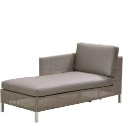 CONNECT • Loungemodul Chaiselongue RECHTS • inkl.Polster • Cane-line