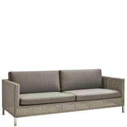 CONNECT • Outdoor 3-Sitzer Sofa • inkl.Polster • Cane-line