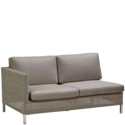 CONNECT • Outdoor Loungemodul 2-Sitzer-Sofa RECHTS • inkl.Polster • Cane-line