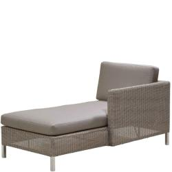 CONNECT • Outdoor Loungemodul Chaiselongue LINKS • inkl.Polster • Cane-line
