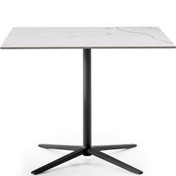 COSMOS • Gartentisch / Bistrotisch • Höhe 72cm • Aluminiumgestell & Porzellan-Steinzeug-Platte • div.Farben • B&B Italia