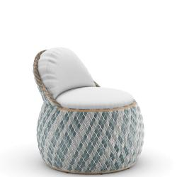 DALA • Outdoor Clubsessel / Clubchair • BAHAMAS • Polster exklusive • DEDON
