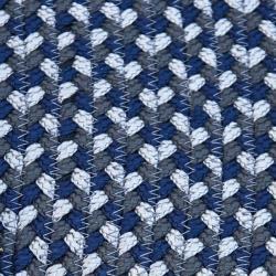 DEFINED • Outdoor Teppich • Ø140cm • Blau • Cane-line