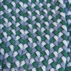 DEFINED • Outdoor Teppich • Ø140cm • Grün • Cane-line
