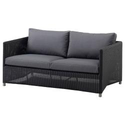 DIAMOND WEAVE • Lounge • 2-Sitzer Sofa • Graphit • cane-line