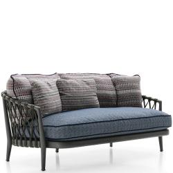 ERICA 19 • 2-Sitzer Sofa • inkl.Sitzpolster • div.Farben • B&B Italia Outdoor