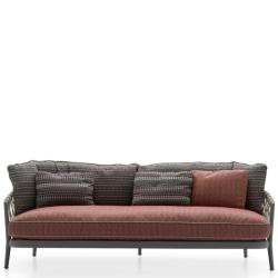 ERICA 19 • Outdoor 3-Sitzer Sofa • div.Farben • B&B Italia