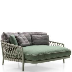 ERICA 19 • Sofa mit großer Sitztiefe • inkl.Sitzpolster • div.Farben • B&B Italia Outdoor