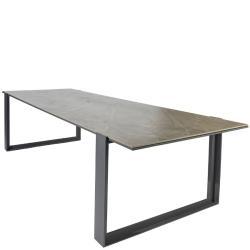 FARO • Gartentisch / Esstisch • 270×103cm • Aluminium • DEKTON®-Tischplatte • BOREK