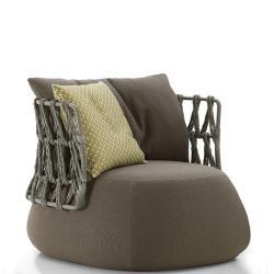 FAT • Outdoor Loungesessel / Loungechair • mit niedriger Rückenlehne • div.Farbkombinationen • B&B Italia