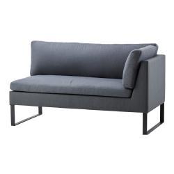 FLEX • Low Dining 2-Sitzer Sofa • LINKS • Grau • cane-line