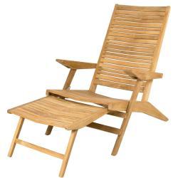 FLIP • Deckchair / Liegestuhl • Teakholz • Cane-line