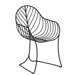 FOLIA • Gartenstuhl mit Armlehnen • Aluminium • div.Farben • ROYAL BOTANIA