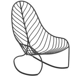 FOLIA • Schaukelstuhl / Rockingchair • Aluminium • div.Farben • ROYAL BOTANIA