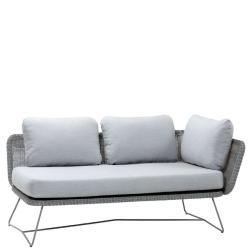 HORIZON • 2-Sitzer-Modulsofa LINKS • Farbe Hellgrau • Cane-line