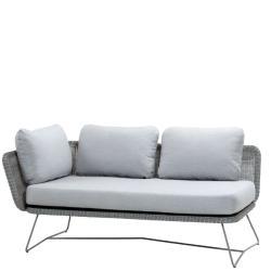 HORIZON • 2-Sitzer-Modulsofa RECHTS • Farbe Hellgrau • Cane-line