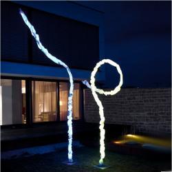 Joshua Outdoor Leuchte • LED RGB + weiß Farbwechsel