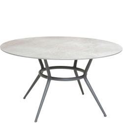 JOY • Gartentisch • Ø140cm • Keramik-Tischplatten wählbar • Cane-line