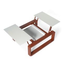 KAMA • höhenverstellbarer Tisch modular klein • diverse Farben • EGO Paris