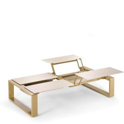 KAMA • höhenverstellbarer Tisch modular QUATTRO • diverse Farben • EGO Paris