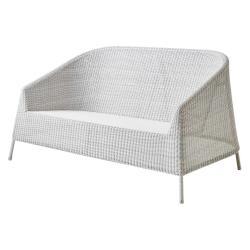 KINGSTON • 2-Sitzer Sofa • Mocca oder Weissgrau • Cane-line