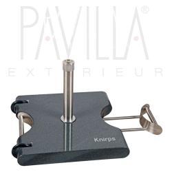 KNIRPS OASIS • fahrbarer Granitsockel • 50kg