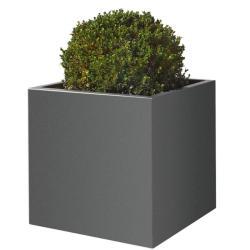 KUBUS • Pflanzkübel / Pflanzgefäß / Pflanztrog • div.Größen & Farben • GARTENSILBER