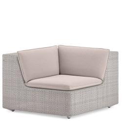 LOU • Loungemodul ECKE-Element • Clay • exkl.Polster-Set •  DEDON