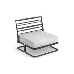 MARCEL • Lounge Mittel-Element • inkl.Sitz-/Rückenpolster • div.Farben • EMU