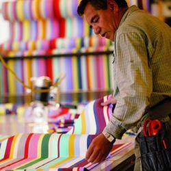 METERWARE • 100×150cm • Acrylstoff • Farbwahl • WEISHÄUPL