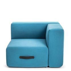 MIAMI • Outdoor Lounge Eckmodul rechts • 64x92x92cm • 3 Farben • CONMOTO