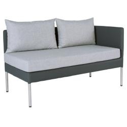 MIGUEL • Essgruppenmodul • 2-Sitzer Sofa LINKS • STERN