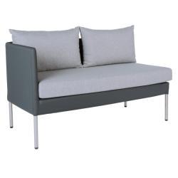 MIGUEL • Essgruppenmodul • 2-Sitzer Sofa RECHTS • STERN